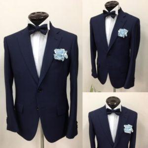 ブレスメンズ大阪店 東京南青山店メンズフォーマル紺スーツ